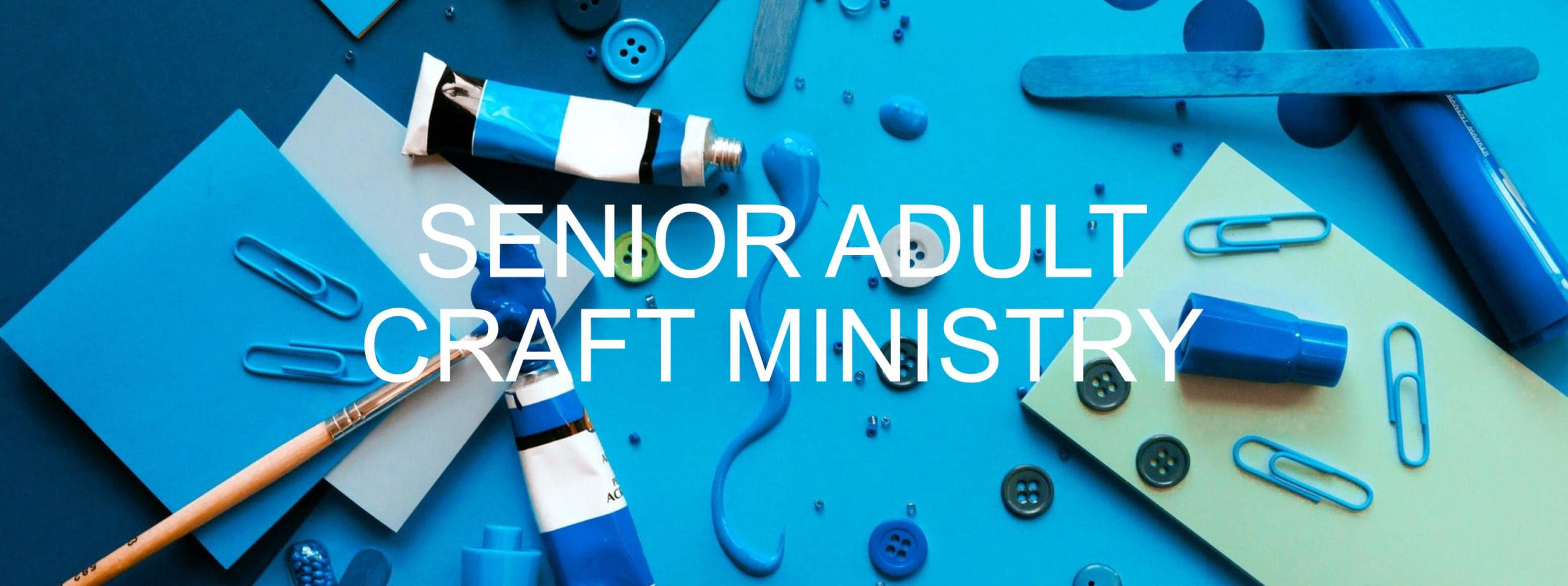 senior adult craft ministry